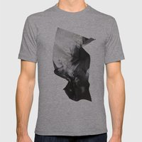 Wrinkled dreams Mens Fitted Tee Athletic Grey SMALL