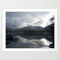 Lake District, United Ki… Art Print