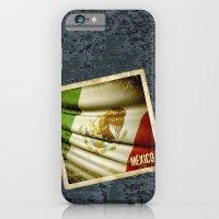 STICKER OF MEXICO flag iPhone 6 Slim Case