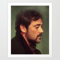 john winchester Art Print