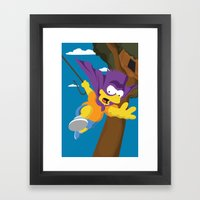 Bartman Framed Art Print