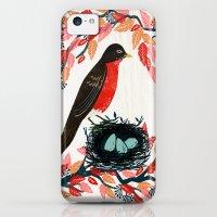 iPhone 5c Cases featuring Robin's Nest by Andrea Lauren  by Andrea Lauren Design