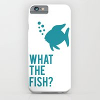 iPhone & iPod Case featuring The Fish? by Glassy