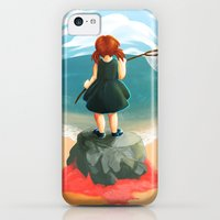 iPhone 5c Cases featuring Little Crabs II by mazedoodle