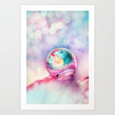 A Drop of Fun Art Print