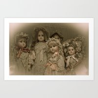 Little Women Art Print