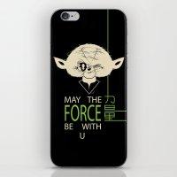 Starwars Yoda - May The … iPhone & iPod Skin