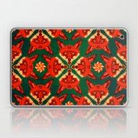 Fox Cross Geometric Patt… Laptop & iPad Skin