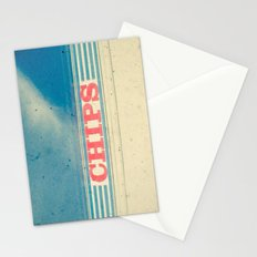 Chips Stationery Cards