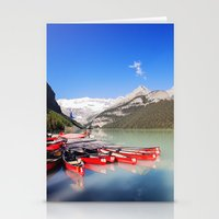 Lake Louise in Alberta, Canada Stationery Cards