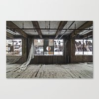 Factory H Canvas Print
