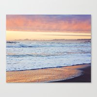 Clouds at Sunset Before the Storm, Santa Cruz Canvas Print