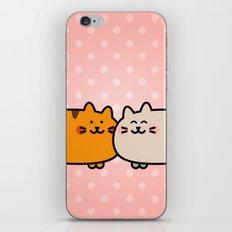 Romantic Cats iPhone & iPod Skin