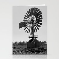 The old village mill Stationery Cards