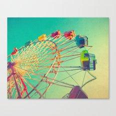 October Skies Canvas Print
