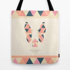 Boston Terrier: Triangles. Tote Bag
