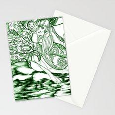 Secret Path / Original A4 Illustration / Pen & Ink Stationery Cards