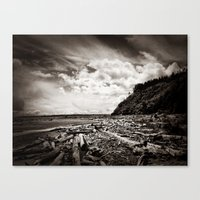 Lonely Stretch Canvas Print