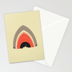 Great White Bite Stationery Cards