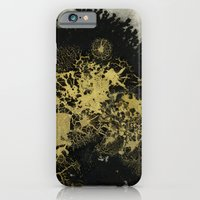 Black and gold iPhone 6 Slim Case