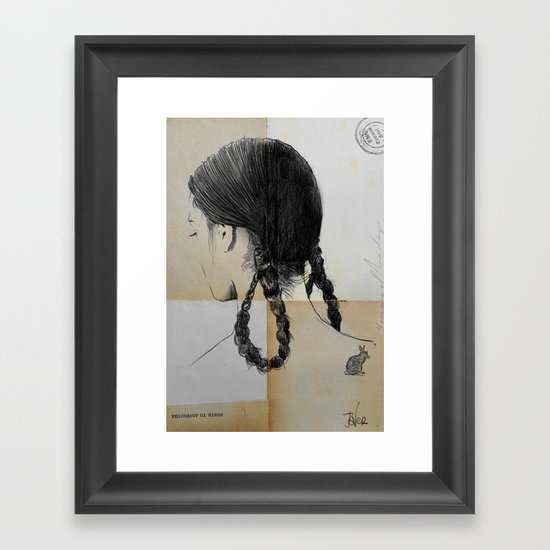 Rabbit Holes Framed Art Print By Louijoverart Society6