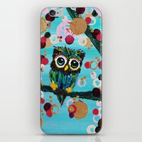 :: Gemmy Owl Loves Jewel… iPhone & iPod Skin