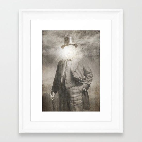 Mr. Sunshine  Framed Art Print