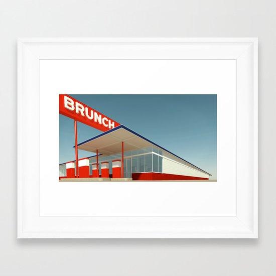 Ed Brunch Framed Art Print