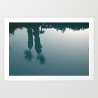 Desert Reflection Art Print