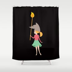 Wolfbelina Shower Curtain