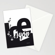 I Love You 3 Stationery Cards