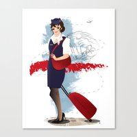 Come fly with me, let's fly, let's fly away - Poland Canvas Print