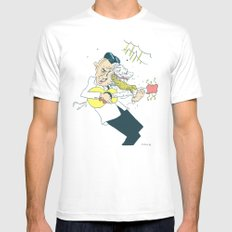 Stories Mens Fitted Tee White SMALL