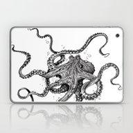 Laptop & iPad Skin featuring Octopus by TAOJB