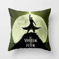 LE VISITEUR DU FUTUR - N… Throw Pillow