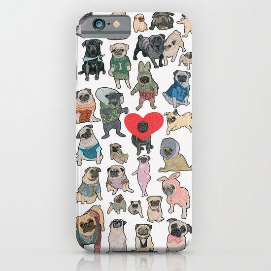 Pugs iPhone & iPod Case
