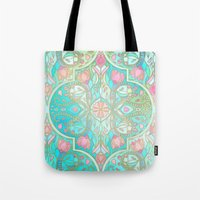 Floral Moroccan In Sprin… Tote Bag