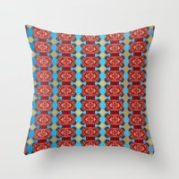 Mix&Match:  Merry Christmas From Tibet (with LOVE!) 02 Throw Pillow