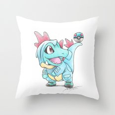 Caught In A DILEma Throw Pillow