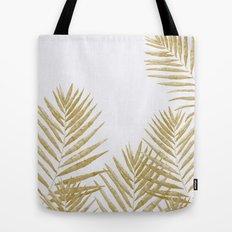 Fern Golden Tote Bag