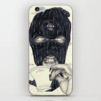 Mask 1 iPhone & iPod Skin