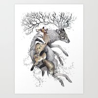 Protect Our Wildlife  Art Print