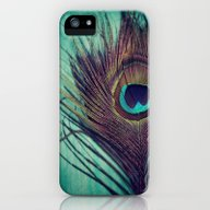 Peacock Feather iPhone (5, 5s) Slim Case
