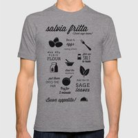 salvia fritta BW Mens Fitted Tee Athletic Grey SMALL