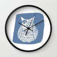 Hoot 1 Wall Clock
