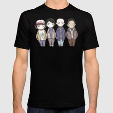 Stranger Plushies SMALL Mens Fitted Tee Black