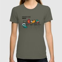 Emergency Room Womens Fitted Tee Lieutenant SMALL