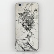 iPhone & iPod Skin featuring Scarecrow by Zina Nedelcheva