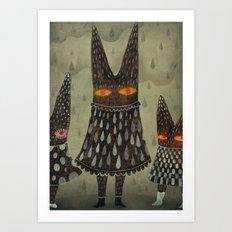 The Night Lurkers Art Print