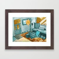 Inside Our Treehouse Framed Art Print